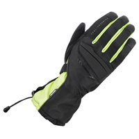 Convoy 2.0 Waterproof Winter Gloves (Black/Fluo Yellow) by Oxford