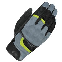 Oxford Brisbane Air Short Motorcycle Gloves (Charcoal/Black)
