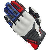 Held Hamada Motocross Gloves (Red/Blue)