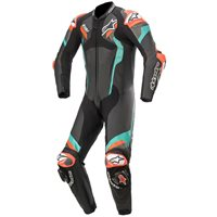 Alpinestars Atem v4 One Piece Leathers (Black/Pet/Red/Fluo)