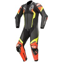 Alpinestars Atem v4 One Piece Leathers (Black/Red/Fluo Yellow)