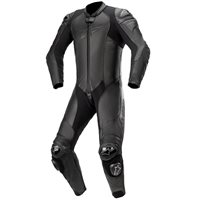 Alpinestars GP Plus v3 Graphite One Piece Leathers (Black)