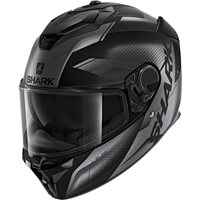 Shark Spartan GT Elgen Helmet (Matt Black/Anthracite)
