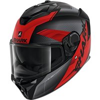 Shark Spartan GT Elgen Helmet (Matt Black/Anthracite/Red)
