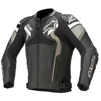 Alpinestars Atem v4 Leather Jacket (Black/Grey/White)
