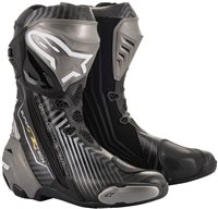 Alpinestars Supertech R Motorcycle Boots (Black/Grey/Gold)