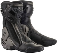 Alpinestars SMX Plus v2 Motorcycle Boots (Black/Grey)