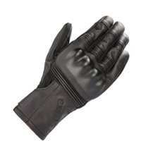 Alpinestars Gareth Leather Motorcycle Gloves (Black)