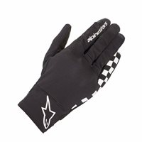 Alpinestars Reef Drystar Motorcycle Gloves (Black/White)