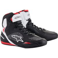 Alpinestars Faster 3 Rideknit Shoes (Black|White|Red)