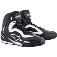 Alpinestars Faster 3 Rideknit Shoes (Black|White)