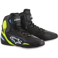 Alpinestars Faster 3 Shoes (Black|Yellow|Blue)