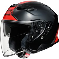 Shoei  J-Cruise 2 Adagio TC1 Open Faced Helmet (Black|Red)
