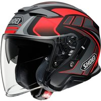 Shoei  J-Cruise 2 Aglero TC1 Open Faced Helmet (Grey|Red)
