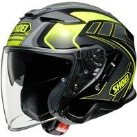 Shoei  J-Cruise 2 Aglero TC3 Open Faced Helmet (Grey|Yellow)