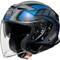 Shoei  J-Cruise 2 Aglero TC2 Open Faced Helmet (Grey|Blue)