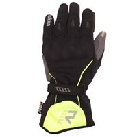 Rukka Virium Motorcycle Gore-Tex Gloves (Black|Yellow)