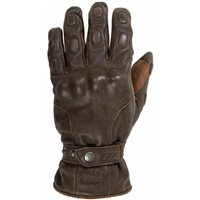 Rukka Beckwith Motorcycle Leather Gloves (Brown)