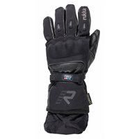 Rukka Fiennes Gore-Tex Motorcycle Gloves (Black)