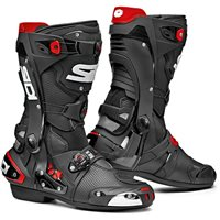 Sidi REX Air CE Motorcycle Boots (Black)
