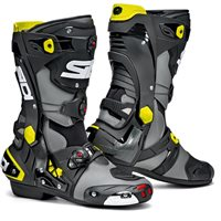 Sidi REX CE Motorcycle Boots (Grey|Black|Yellow)
