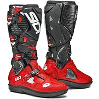 Sidi Crossfire 3 SRS Motocross Boots (Red|Black)