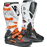 Sidi Crossfire 3 SRS Motocross Boots (Orange|Black|White)