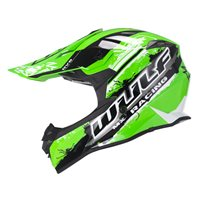 Wulfsport Off Road Pro Motocross Helmet (Green)