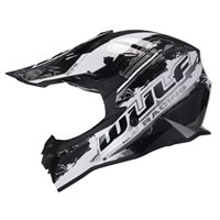 Wulfsport Off Road Pro Motocross Helmet (Black)