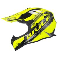 Wulfsport Off Road Pro Motocross Helmet (Yellow)