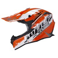 Wulfsport Off Road Pro Motocross Helmet (Orange)