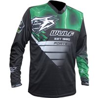 Wulfsport Forte Race Shirt (Green)