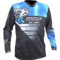 Wulfsport Forte Race Shirt (Blue)