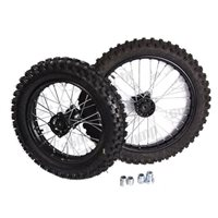 Stomp Pitbikes Standard Size Wheel Kit 10/12 for Stomps (includes tyres/tubes)