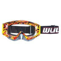 Wulfsport Motocross Geo Goggles (Red)