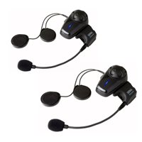 Sena SMH10 Bluetooth Headset and Intercom System (Dual Pack)