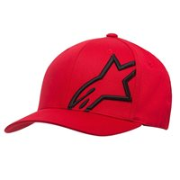 Alpinestars Corporate Shift 2 Flex Fit Hat (Red|Black)