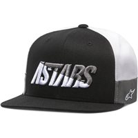 Alpinestars Faster Hat (Black/White/Grey)