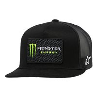 Alpinestars Monster Champ Trucker Hat (Black/Black)