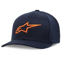 Alpinestars Ageless Curve Hat (Navy & Orange)