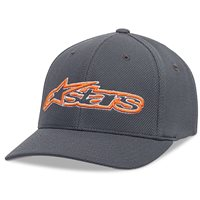 Alpinestars Blaze Mock Mesh Hat (Charcoal/Orange)