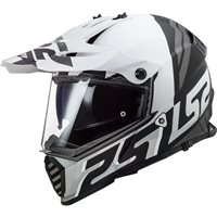 LS2 MX436 Pioneer Evo Evolve Off Road Helmet (Matt White/Black)