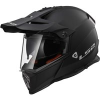 LS2 MX436 Pioneer Evo Off Road Helmet (Matt Black)