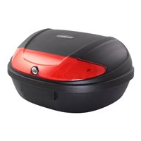 BikeTek 52 Litre ABS Luggage Top Box