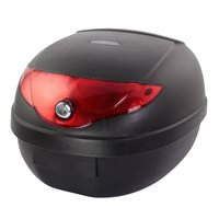 BikeTek 24 Litre ABS Luggage Top Box