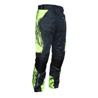 Wulfsport Alpina Kids Armoured Motorcycle Trousers (Black|Yellow)