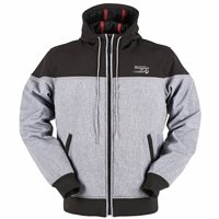 Furygan Sektor Jacket Tech Hoodie / Jacket (Black/Mottle Grey)