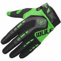 Wulfsport Attack MX Gloves (Green)