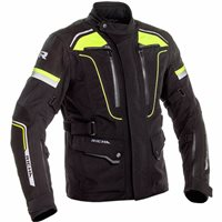 Richa Infinity 2 Pro Textile Motorcycle Jacket (Black|Flo Yellow)