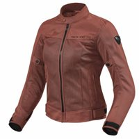 Revit Ladies Motorcycle Jacket Eclipse FJT224 (Burgundy Red)